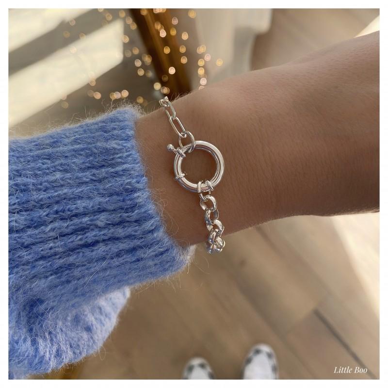 L'AUDACIEUX Bracelet en argent
