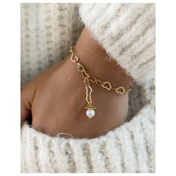 Bracelet Tendresse Argent/Or