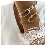 Bracelet Byzance Or